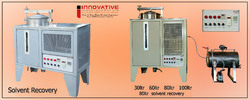 Solvent Recycling Machine 30,60,80,100,200
