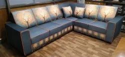 Digital Printed L Shape Sofa