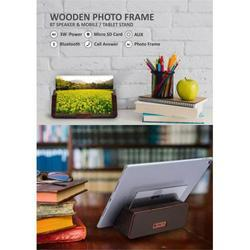 WOODEN PHOTO FRAME , speaker & mobile stand / tablet stand