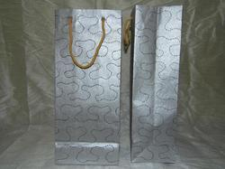 Custom Made Wine Bottle Bags With Embroidery