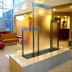 Glass Waterfall Curtains