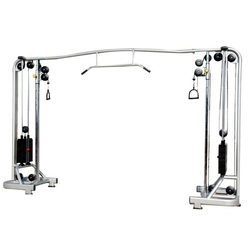Cable Crossover Fitness Machine