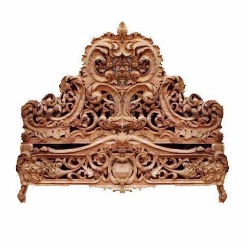 Wooden bed hand carved wooden bed manufacturer from aurangabad