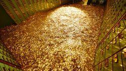 Gold Plating Plant Mud Waste.