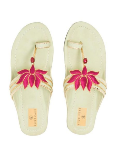 d749db119319 Ethnic Footwear Flats Sleeper - Green Lotus Kolhapuri Slipper Ecommerce Shop    Online Business from Bengaluru