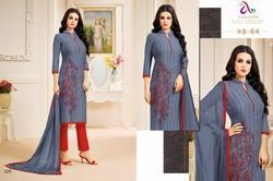 Collar Neck Padmini Salwar Suit