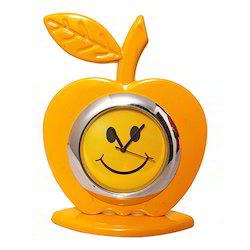 Apple Shape Unique Table/ Desk Clock Decorative Gift Item