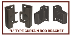 Curtain Rod Brackets In Mumbai Parde Ki Rod Ke Bracket