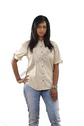 Woven Bush Shirt Ladies