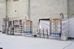 FRP Base RO Plant