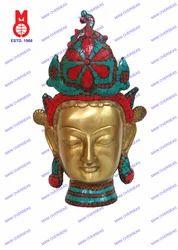 Tara Head W/Crown Statues