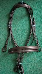 Snaffle Bridle Rubber Grip Reins Padded