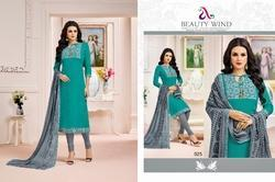 Ladies Madhushala Salwar Suit Fabric