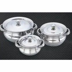 Dakka Stainless Steel Handi Set