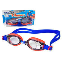 Swimming Goggle for Junior, Polycarbonate Lens, Hero, 4-12 Years