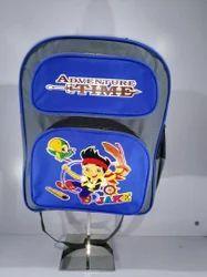 Customised School Bag Blue Color Backpack