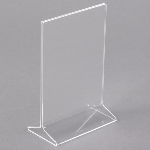 Acrylic Hotel Utility Acrylic Menu Holder A40 Size Imported Extraordinary Adjustable Acrylic Display Stands