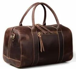Leather Weekend Travel Bag