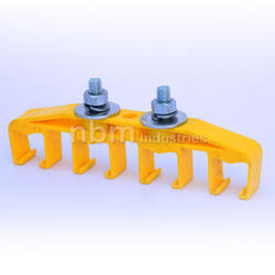 Hanger Clamp - 4 Pole for Pin Joint DSL Crane Busbar