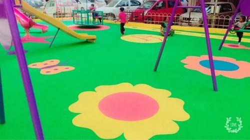 EPDM Rubber Flooring - EPDM Flooring For Children Play Area