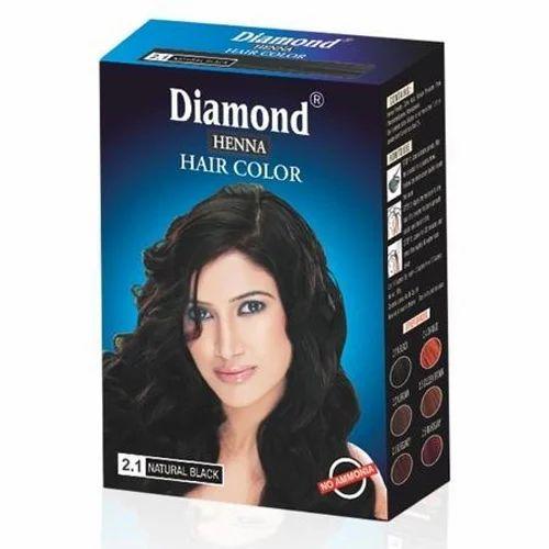 Natural Black Henna Hair Color