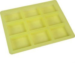 Rectangle Silicone Soap Mold - 75 gms