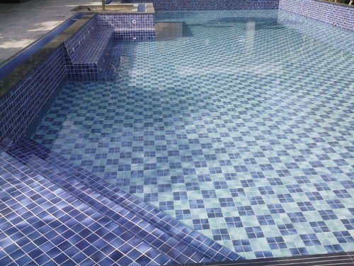 Specific Glass Mosaic India Limited Manufacturer Of Swimming Pool Glass Mosaic Tiles Blue