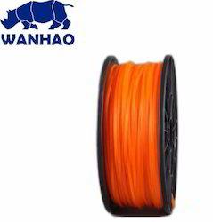 Wanhao Original Orange PLA 1.75mm 3D Printer Filament