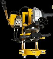 Solwet Hand Hydraulic HDPE Machine 200mm