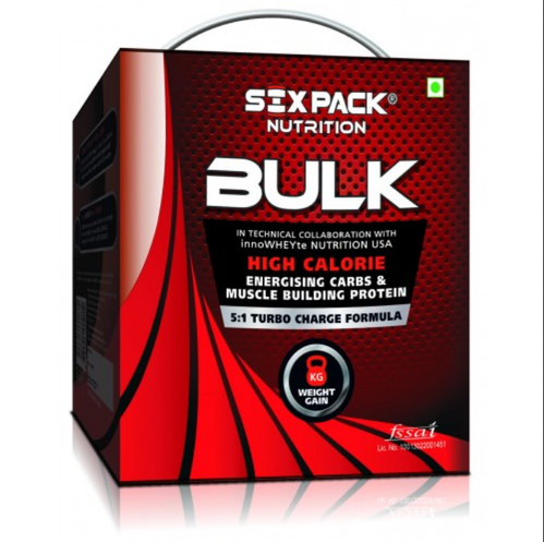 Gainers Nutrition - BULK Six Pack Nutrition Manufacturer from Pune