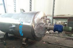 High Pressure Mixing vessel