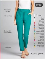 Ladies Stretchable Pant