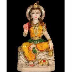 Sitting Parvati Statue