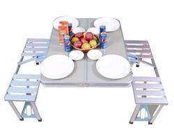 Portable Aluminium Picnic Table