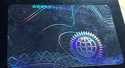 Seal Of Authenticity Holographic Overlay For Cards Documents