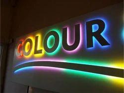 LED Acrylic Sign Board