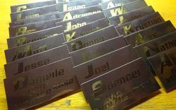 Stainless Steel Etching Badges