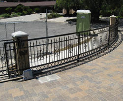 Automatic Curved Sliding Gates