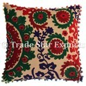 16X16 Suzani Pillow Cushions Cover