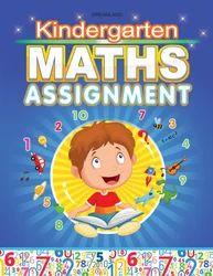 Kindergarten Maths Assignment Book