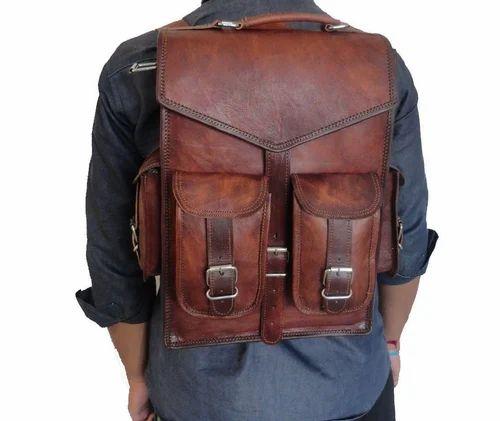 Leather Backpack Bag - 15  Leather Laptop Backpack Messenger 2 In 1 ... 8bb8b2bd88da4