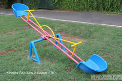 Kids Seesaw Sea Lion Seesaw Manufacturer From Chennai