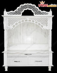 White Marble Jali Mandir