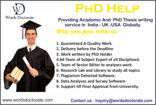 Phd thesis usa