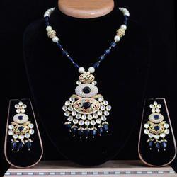Elegant American Diamond Mala Set