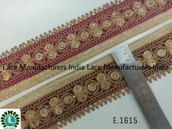 Fancy Embroidery Lace E1615