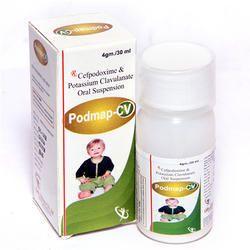 Cefpodoxime & Potassium Clavulanate Oral Suspension