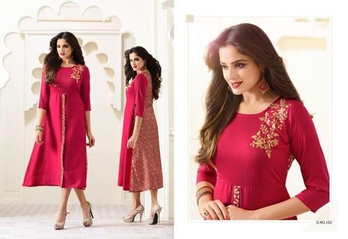 a4f6051587 Kurtis - Designer Long Kurtis Wholesale Supplier from Mumbai
