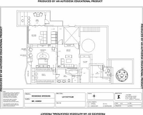 Wonderful House Map Design