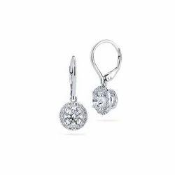 Moissanite Diamond Earrings